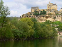 Dordogne river, Beynac-et-Cazenac (France ) Stock Photo