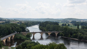 The Dordogne River Royalty Free Stock Images