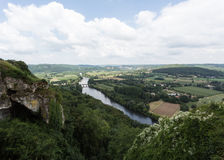 The Dordogne River Royalty Free Stock Image