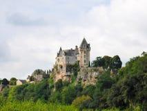 The Dordogne's Chateau de Montfort Royalty Free Stock Photography