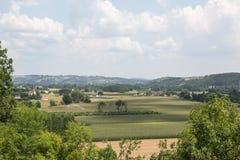 The Dordogne's Farmland Royalty Free Stock Photos