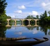 dordogneflod Royaltyfria Foton