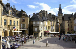 dordogne法国sarlat 免版税图库摄影