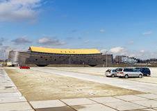 Noahâs平底船大型木复制品  图库摄影