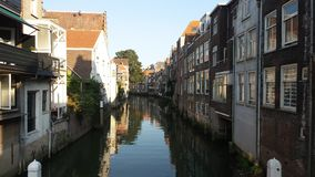 Dordrecht Canal Royalty Free Stock Photo