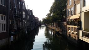 Dordrecht Canal Stock Image