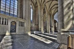Dordrecht Cathedral Stock Image