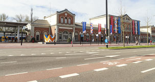 Dordrecht central train station Royalty Free Stock Photo