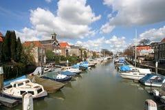 Dordrecht Harbor Royalty Free Stock Photo