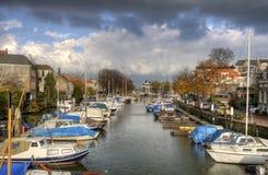 Dordrecht Harbor Stock Photo