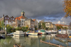 Dordrecht Harbor Royalty Free Stock Images