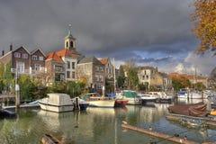 Dordrecht Harbor Royalty Free Stock Images