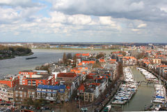 Dordrecht Netherlands royalty free stock photo