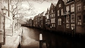 Dordrecht Netherlands. Scene from the city Dordrecht in the Netherlands Stock Images