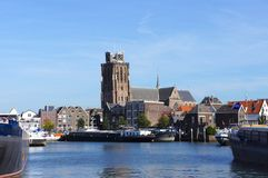 Dordrecht, os Países Baixos imagens de stock