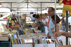 Dordrecht second hand book market Stock Photos
