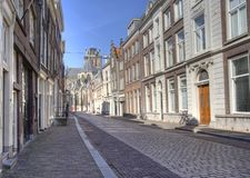 Dordrecht Street Royalty Free Stock Images