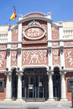 Dore Cinema building, Madrid Royalty Free Stock Photo