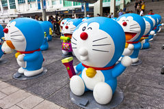 Doreamon exhibition in Hong Kong Royalty Free Stock Photography