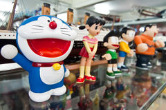 Doreamon Figurine Stock Photo