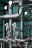 doregulowanie benzynowa stacja zdjęcie stock