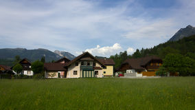 Dorf in Österreich Stockfotos