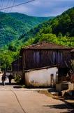 Dorf auf türkischer Landschaft Lizenzfreie Stockbilder