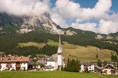 Dorf Badia stockbild
