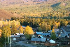Dorf Baihaba Lizenzfreies Stockbild