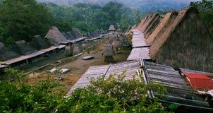 Dorf Bena Stockbild