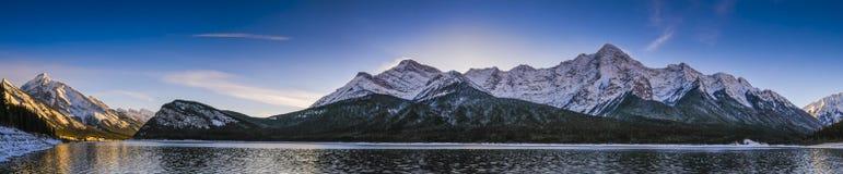 Dorf in den Alpen Lizenzfreie Stockfotografie