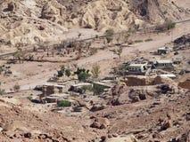Dorf in desert3 Stockbild