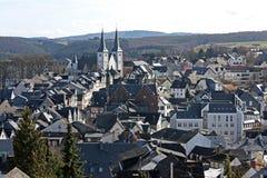 Dorf in Deutschland Stockfotografie