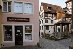 Dorf in Deutschland lizenzfreies stockbild
