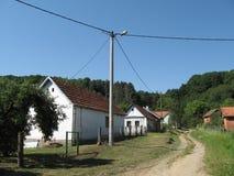 Dorf Gazije Lizenzfreies Stockbild