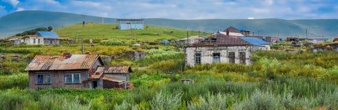 Dorf in Georgia Lizenzfreie Stockfotos