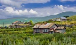 Dorf in Georgia Lizenzfreies Stockfoto