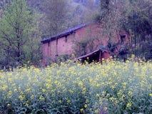Dorf-Grenzsteine Stockfoto