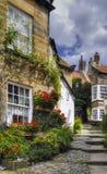 Dorf-Häuser Lizenzfreie Stockfotos