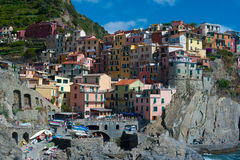 Dorf in Italien Lizenzfreies Stockbild
