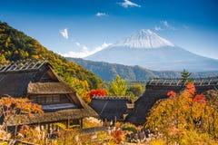 Dorf in Japan Lizenzfreie Stockbilder