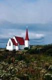 Dorf-Kirche Lizenzfreie Stockfotos