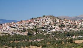 Dorf in Lakonia, Griechenland Lizenzfreies Stockbild