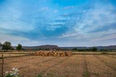 Dorf Landscae Stockfotos