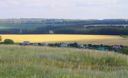 Dorf, Landschaft Stockfotos