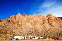 Dorf Las Cuevas Stockfotografie