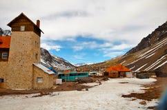 Dorf Las Cuevas Lizenzfreies Stockfoto