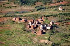 Dorf, Madagaskar Lizenzfreies Stockbild