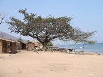 Dorf in Malawi Lizenzfreie Stockbilder