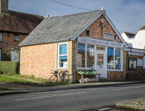 Dorf-Metzger-Bauernhof-Shop Lizenzfreie Stockbilder